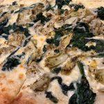 Cream-based sauce w/ sautéed spinach, house-seasoned artichokes & Gruyère cheese